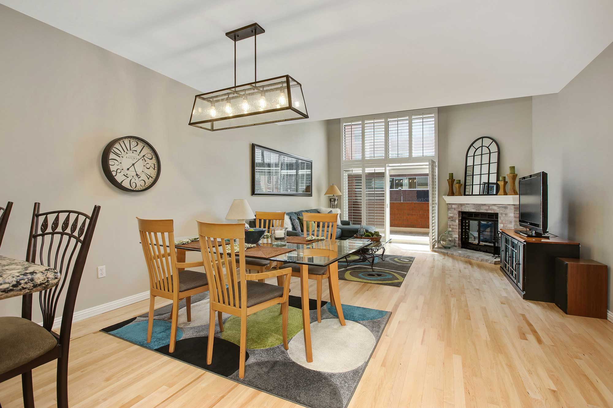 Two story condo for sale at Writer Square – 3 bed 3 bath 1,763 SF