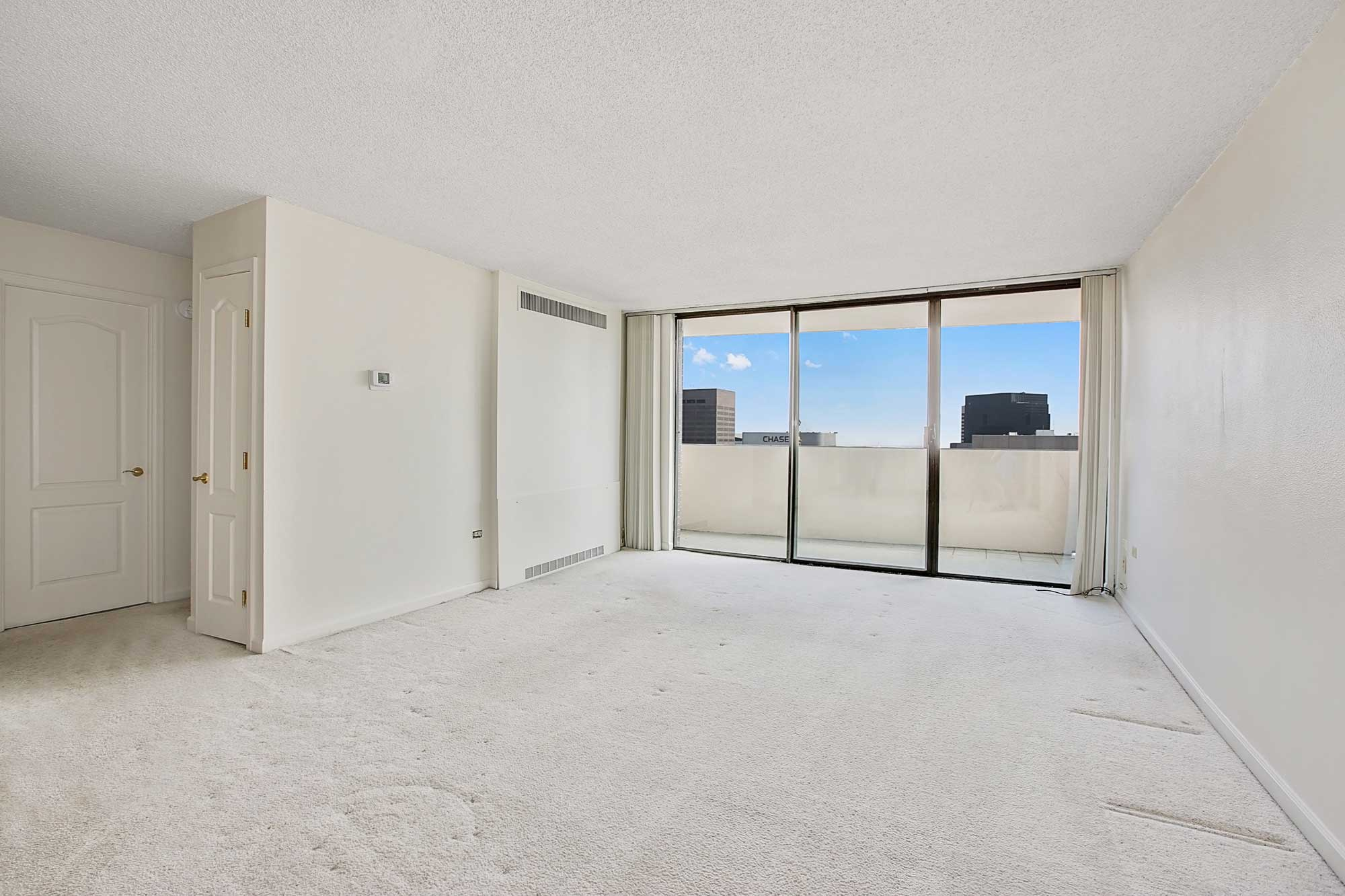 Downtown condo for sale at Brooks Tower – Rare 3-bed 2-bath corner unit