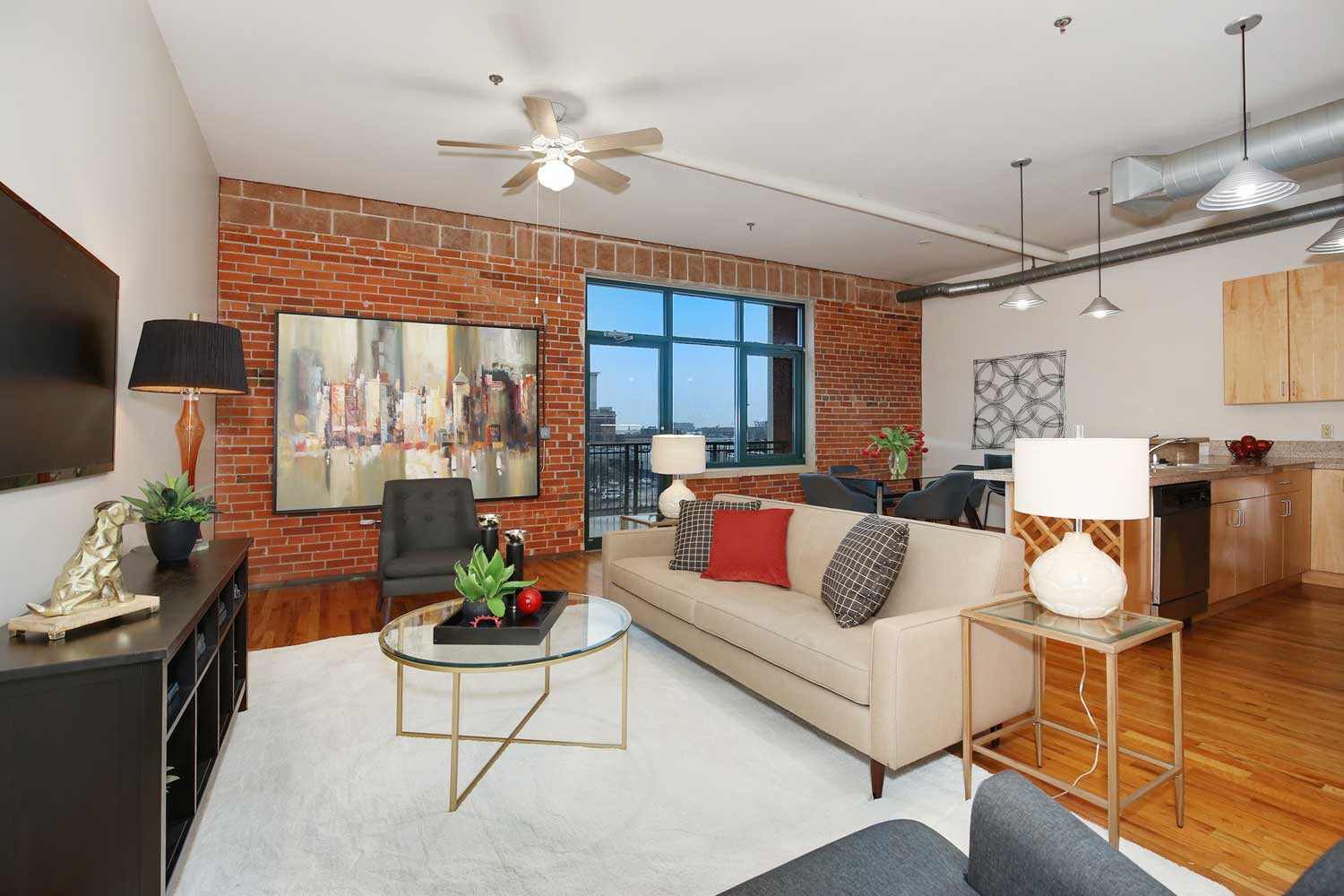 Downtown Denver loft for sale at Isbell Lofts